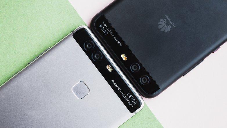 Huawei P10 gegen Huawei P9 Kamera Vergleich