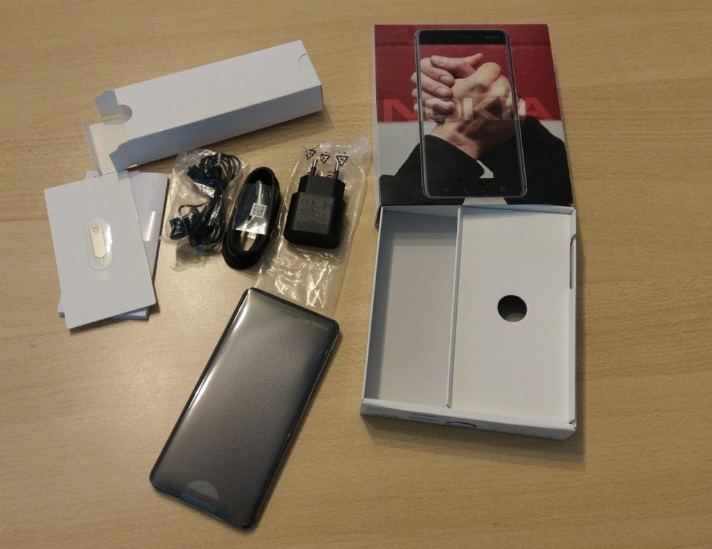 Nokia 6 Lieferumfang