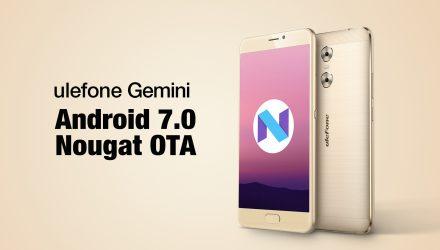 Ulefone Gemini Nougat Update Titel