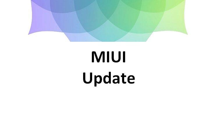 MIUI Update