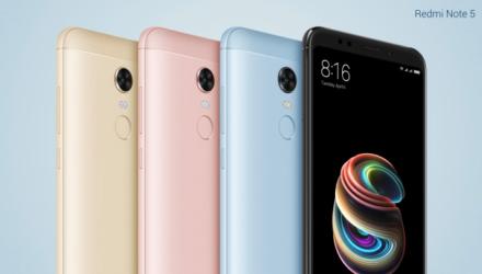 Redmi Note 5 Smartphone Produktfolie