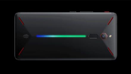Nubia Red Magic Smartphone von hinten