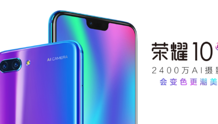 Honor 10 Pressebild